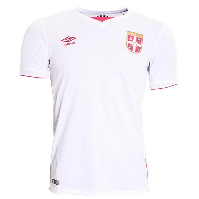 Гостевая форма сборной Сербии 16/17 | Serbia Away Kit 16-17