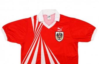 Гостевая форма сборной Австрии 1990