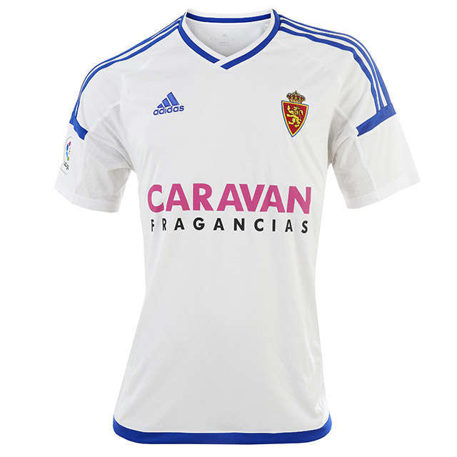 """Домашняя форма """"Сарагосы"""" 16/17   Real Zaragoza 16-17 Home Kit"""