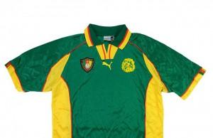 Домашняя форма Камеруна 1998-99   Cameroon Home kit 1998-99