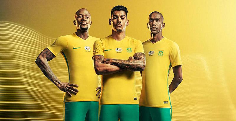 Форма сборной ЮАР 2017