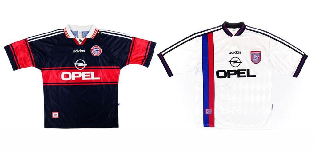 Форма Баварии 1997-1998