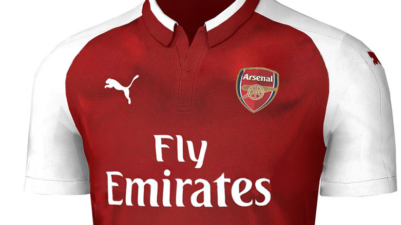 Домашняя форма «Арсенала» 17 18   Arsenal 17-18 Home Kit   Footykits ... 16e15659660