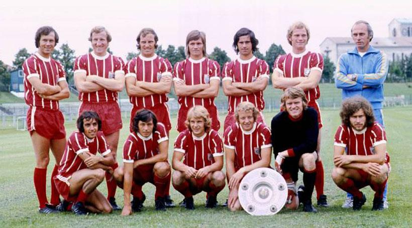 Форма Баварии 1973-1974