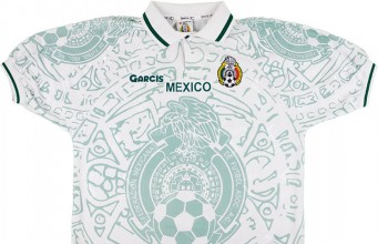 Гостевая форма сборной Мексики 1999
