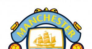 Логотип Манчестер Юнайтед и Манчестер Сити