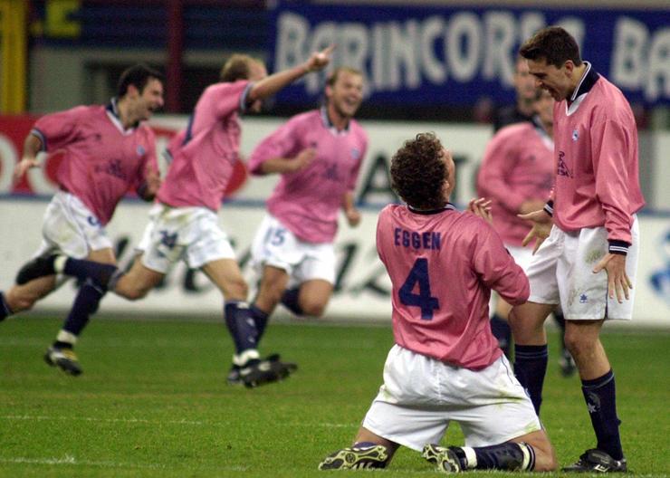 Inter Milan v CD Alaves 2001