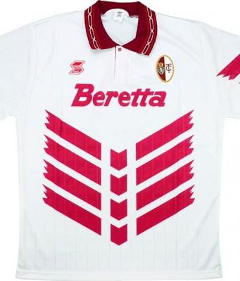 """Гостевая форма """"Торино"""" 92-93"""