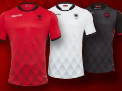Форма сборной Албании 2017