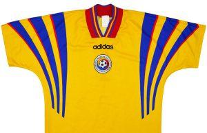 Домашняя форма сборной Румынии 96-98