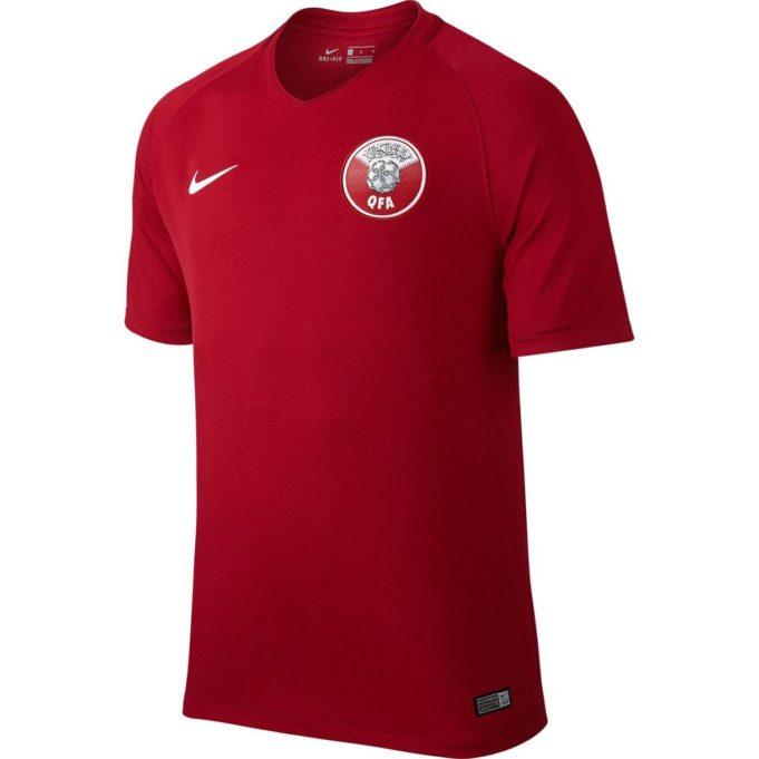 Домашняя форма сборной Катара 2017