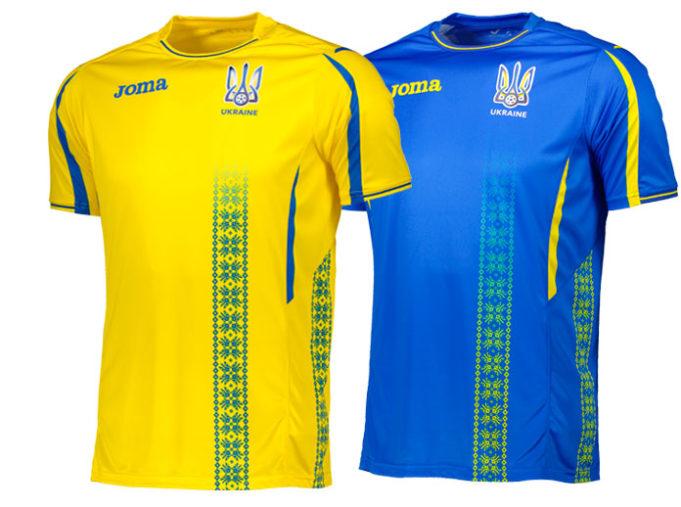 Новая форма сборной Украины 2017