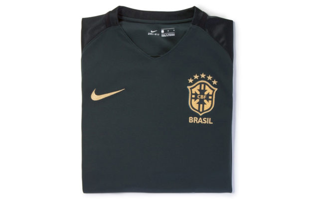 Новая форма сборной Бразилии 2017