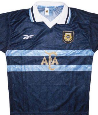 Гостевая форма сборной Аргентины 99-00