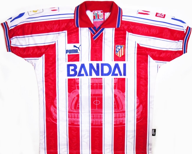 """Домашняя форма """"Атлетико Мадрид"""" 96/97"""