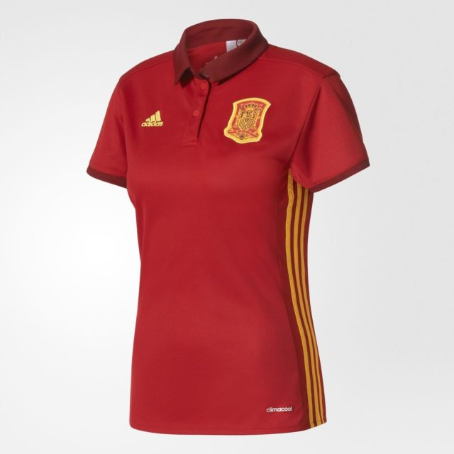 Домашняя форма женской сборной Испании 2017
