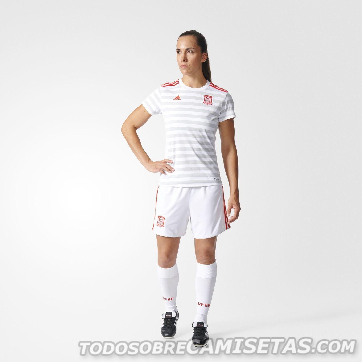 Форма женской сборной Испании 2017   Footykits.ru - Футбольная форма e4f0f8dc942