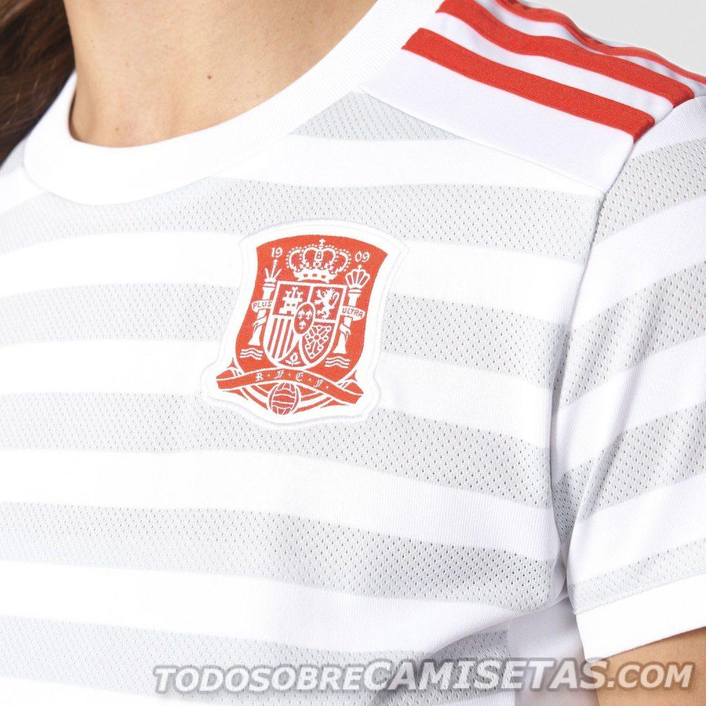 Гостевая форма женской сборной Испании 2017