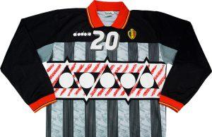 Вратарская форма сборной Бельгии 1994