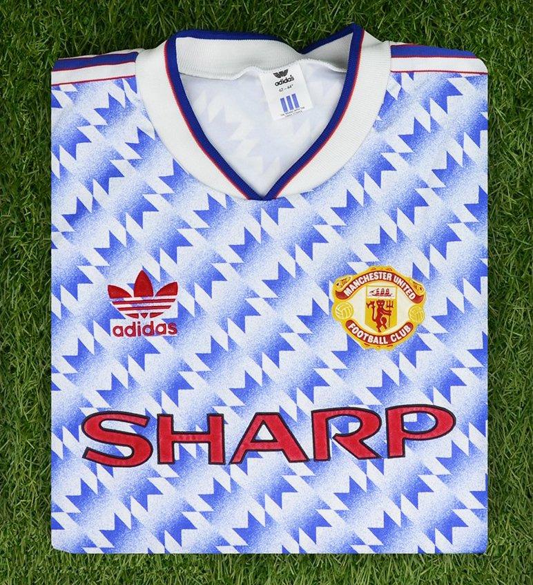 "Гостевая форма ""Манчестер Юнайтед"" 1990-92"
