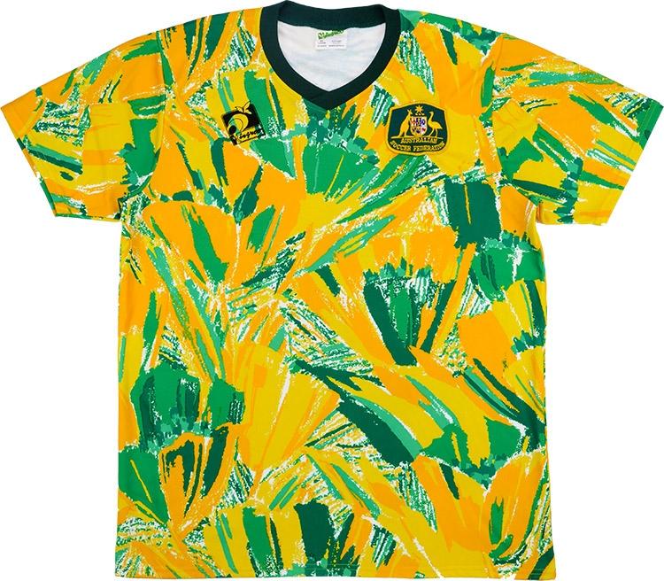 Домашняя форма сборной Австралии 91-92