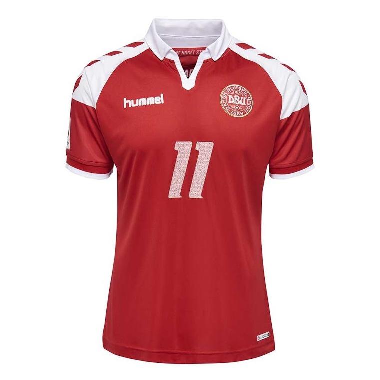 Домашняя форма сборной Дании 2017