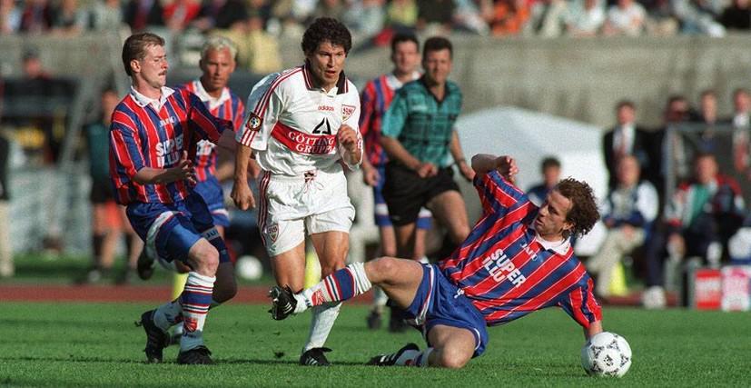 Финал Кубка Германии 1997. Штутгарт - Энерги