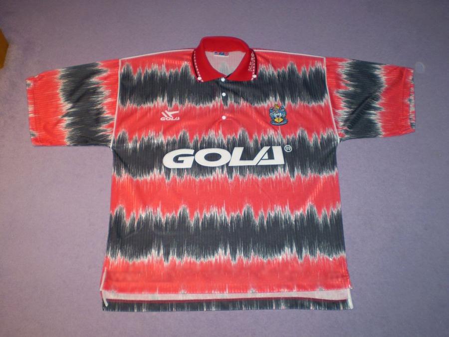 Гостевая форма Хаддерсфилда 1991-92