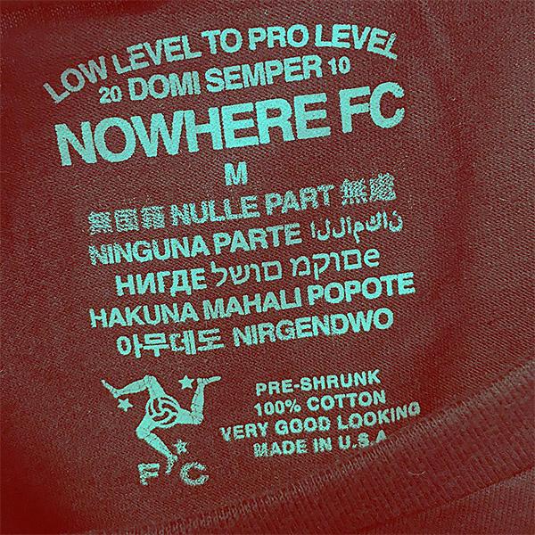 Nowhere FC - самый модный футбольный клуб на планете