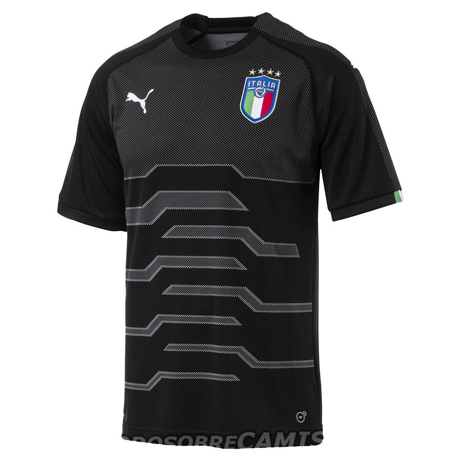 Вратарская форма сборной Италии 2018