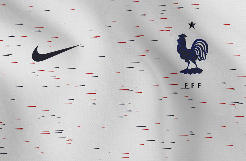 Гостевая форма сборной Франции 2018