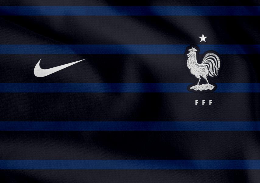 Домашняя форма сборной Франции 2018