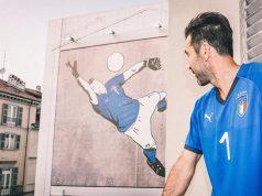 Домашняя форма сборной Италии 2018