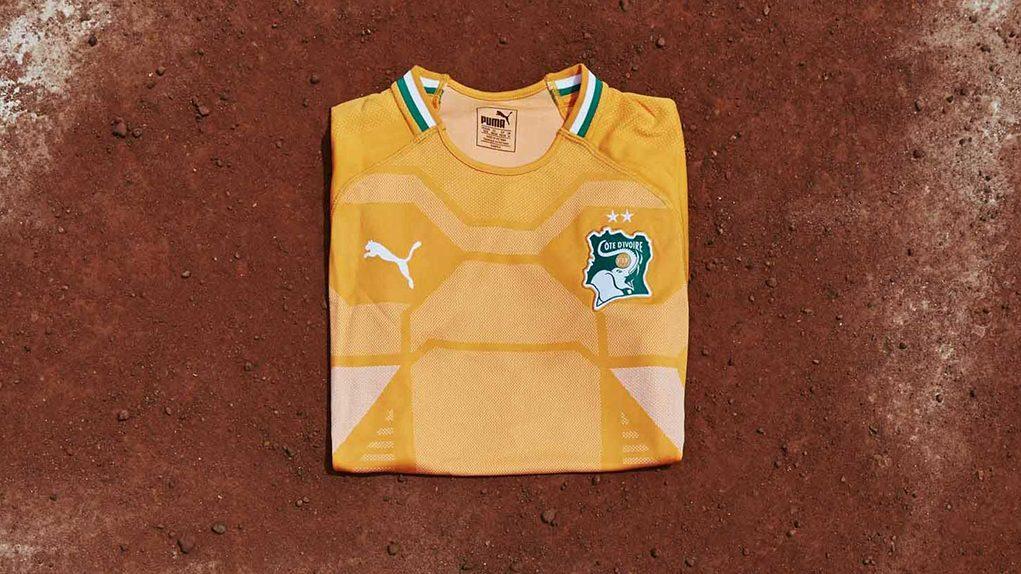Новая форма сборной Кот-д'Ивуара 2018