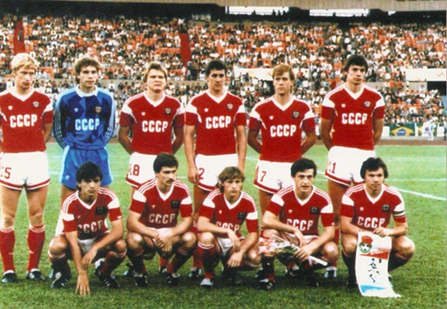 Сборная СССР по футболу 1988 года