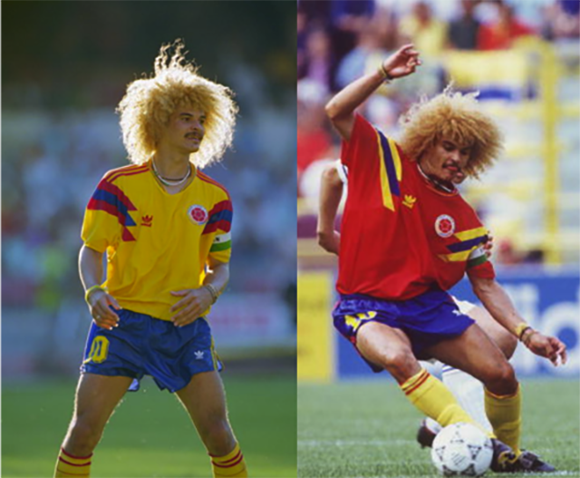 Форма сборной Колумбии 1990