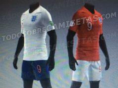Новая форма сборной Англии 2018