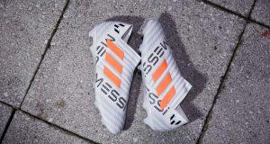 Бутсы Adidas Nemeziz Messi 17+ Pyro Storm