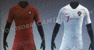 Новая форма сборной Португалии 2018