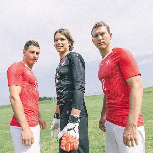 Форма сборной Швейцарии 2018