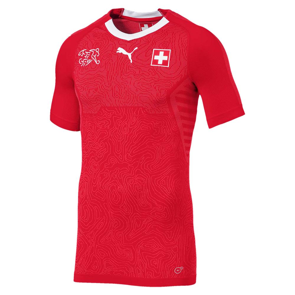 Домашняя форма сборной Швейцарии 2018