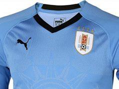 Домашняя форма сборной Уругвая 2018