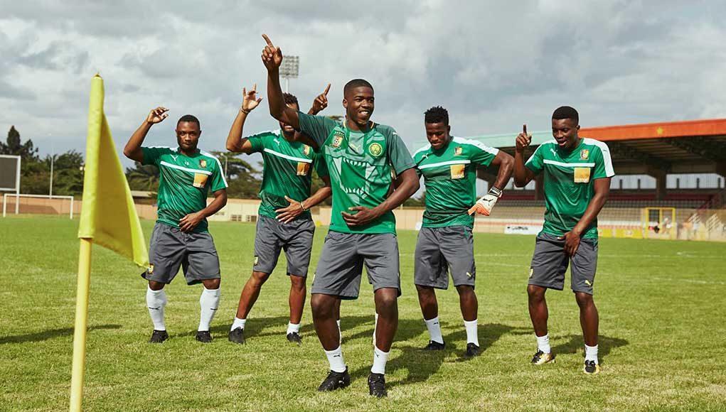 Домашняя форма сборной Камеруна 2018