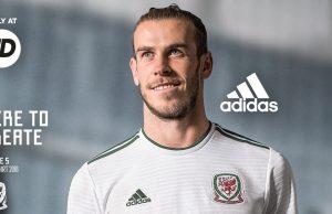 Гостевая форма сборной Уэльса 2018