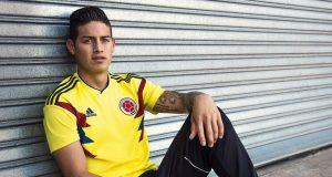 Новая домашняя форма сборной Колумбии 2018