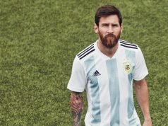 Домашняя форма сборной Аргентины 2018