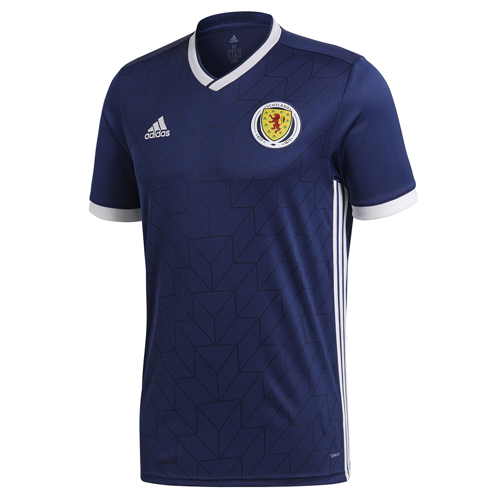 Домашняя форма сборной Шотландии 2018