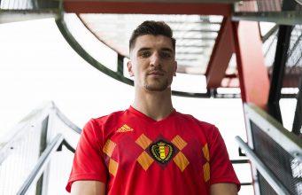 Домашняя форма сборной Бельгии 2018