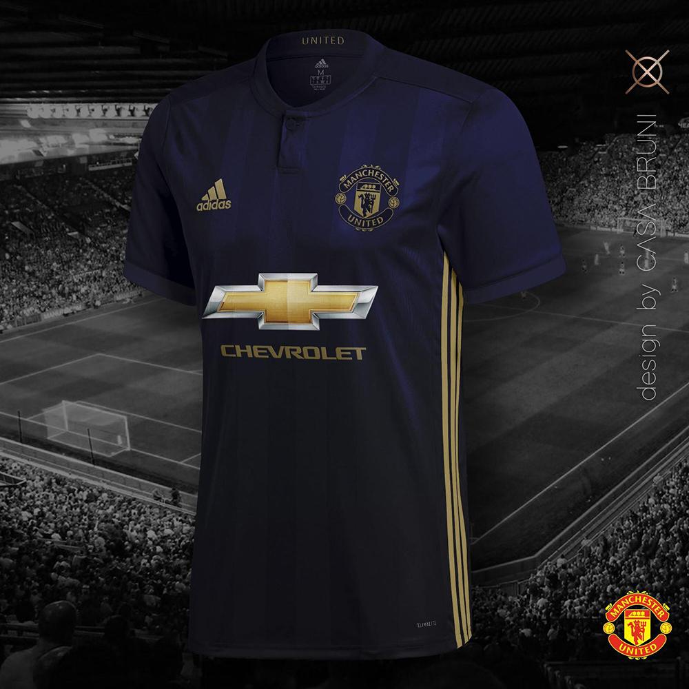 """Третья форма """"Манчестер Юнайтед"""" 2018-2019"""
