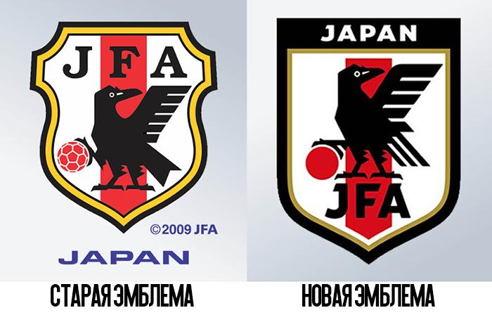 Эмблема Федерации футбола Японии
